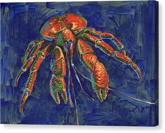 Coconut Crab Canvas Print