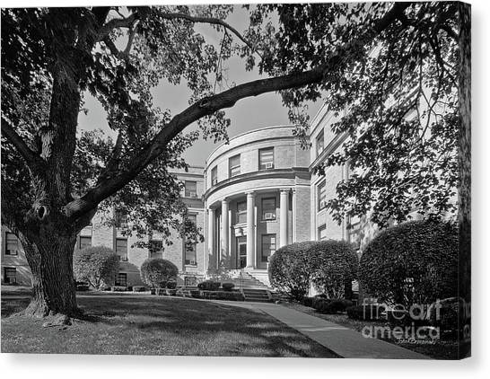 University Of Iowa Canvas Print - Coe College Greene Hall by University Icons