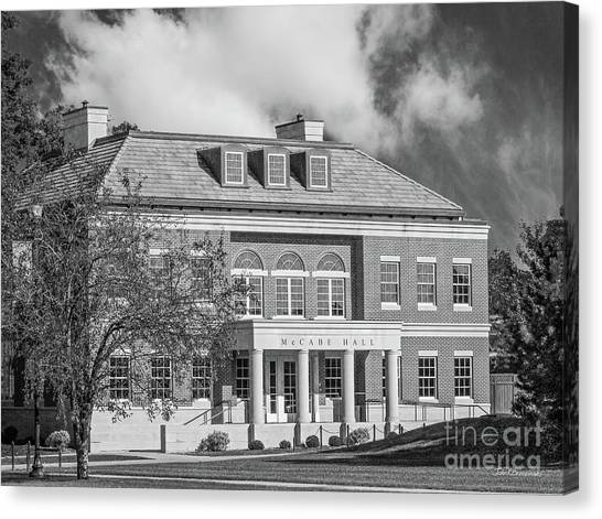 University Of Iowa Canvas Print - Coe College Mc Cabe Hall by University Icons