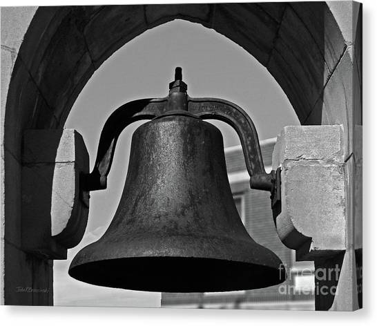 University Of Iowa Canvas Print - Coe College Victory Bell by University Icons
