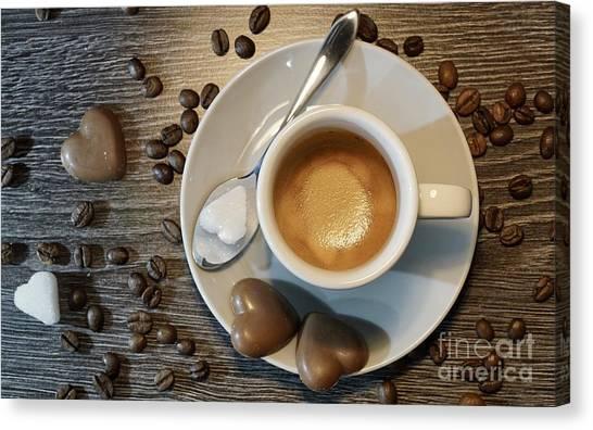 Coffee #1 Canvas Print