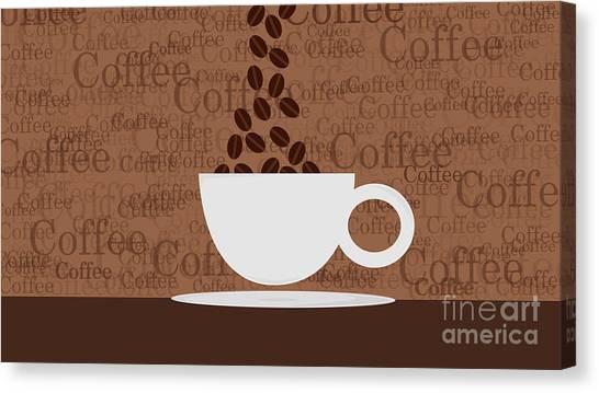 Coffee #3 Canvas Print