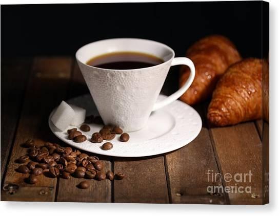 Coffee #4 Canvas Print