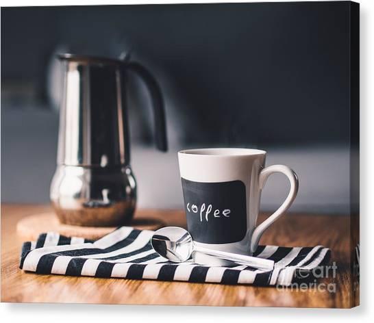 Coffee #5  Canvas Print