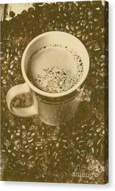 Caffeine Canvas Print - Coffee And Nostalgia by Jorgo Photography - Wall Art Gallery