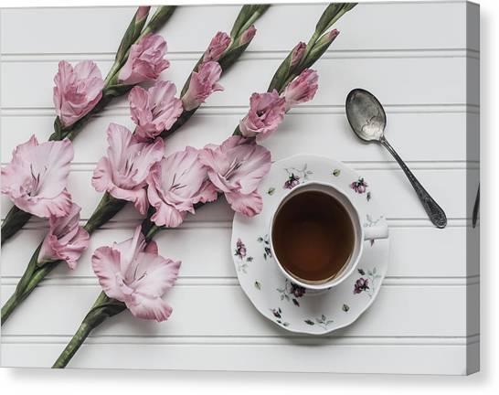 Coffee Plant Canvas Print - Coffee Break by Kim Hojnacki