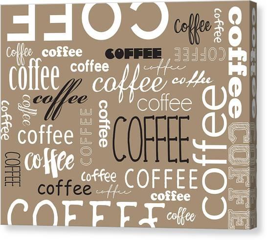 Canvas Print - Coffee by Color  Splash