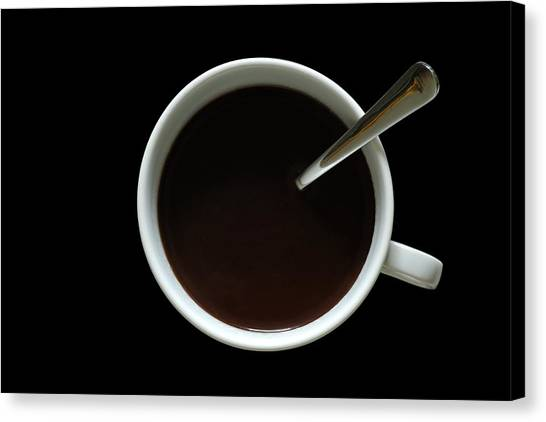 Coffee Canvas Print - Coffee Cup by Frank Tschakert