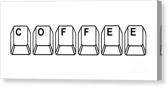 Coffee Canvas Print - Coffee by Edward Fielding