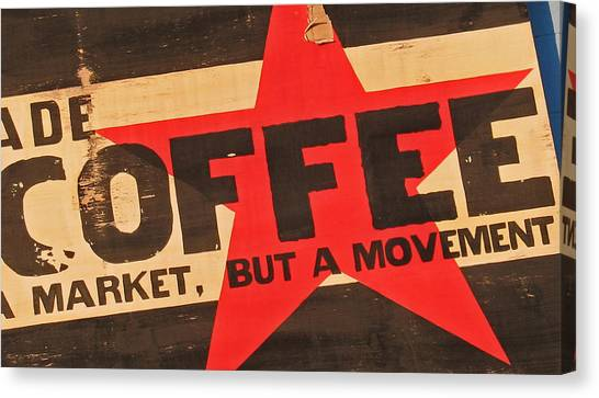 Coffee Canvas Print by Gary Everson