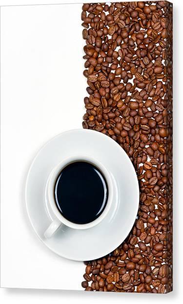 Coffee Canvas Print - Coffee by Gert Lavsen