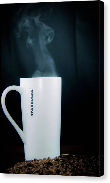 Coffee Canvas Print - Coffee by Hyuntae Kim