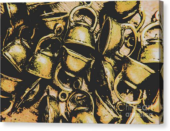 Coffee Shops Canvas Print - Coffee Shop Abstract by Jorgo Photography - Wall Art Gallery