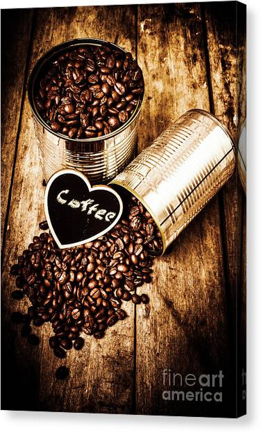 Coffee Shops Canvas Print - Coffee Shop Love by Jorgo Photography - Wall Art Gallery
