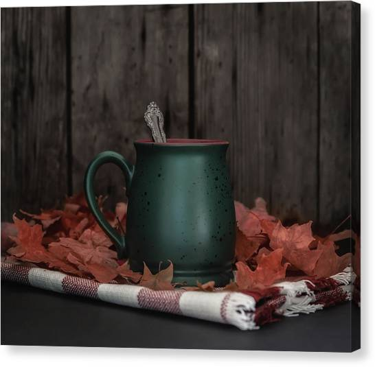 Coffee Plant Canvas Print - Coffee, Tea And Autumn by Kim Hojnacki