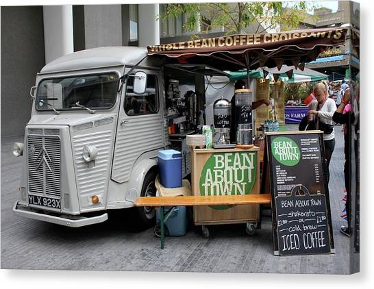 Coffee Truck Canvas Print