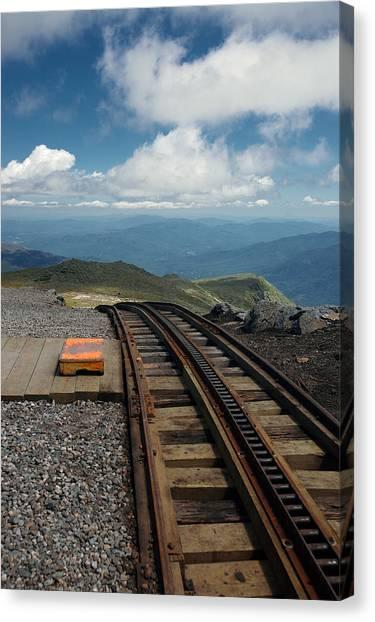 Cog Railway Stop Canvas Print