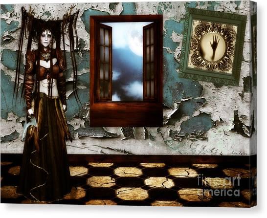 Cogitatione Abstracta Canvas Print