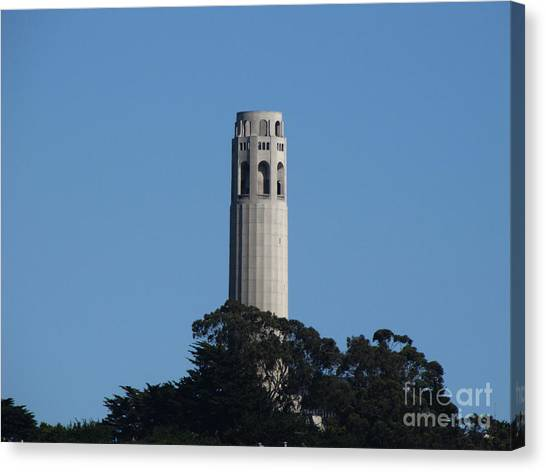 Coit Tower San Francisco Canvas Print