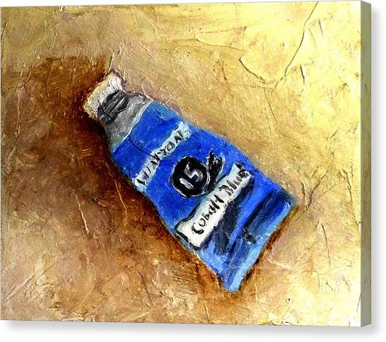 Colbalt Blue Canvas Print