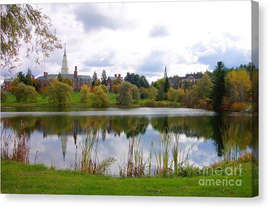 Colby College  Canvas Print
