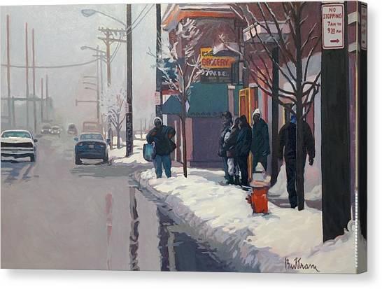 Canvas Print - Cold Coast by David Buttram