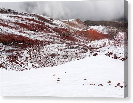 Cotopaxi Canvas Print - Cold Cotopaxi Landscape by Jess Kraft