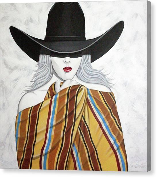 Cold Hottie Canvas Print