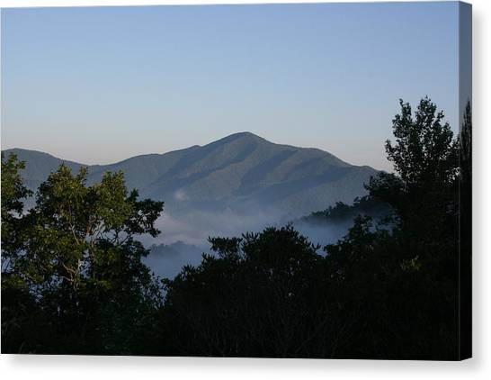 Cold Mountain North Carolina Canvas Print