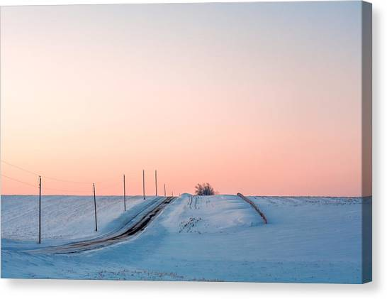 Ditch Canvas Print - Cold Resolute by Todd Klassy