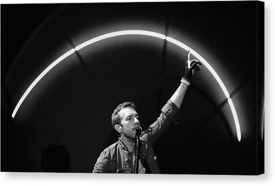 Coldplay Canvas Print - Coldplay10 by Rafa Rivas