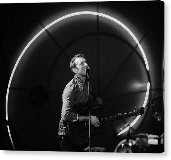 Coldplay Canvas Print - Coldplay11 by Rafa Rivas