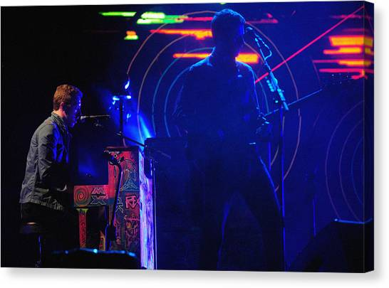Coldplay Canvas Print - Coldplay2 by Rafa Rivas