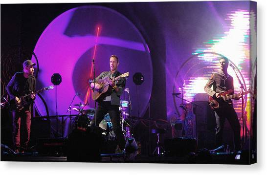 Coldplay Canvas Print - Coldplay5 by Rafa Rivas