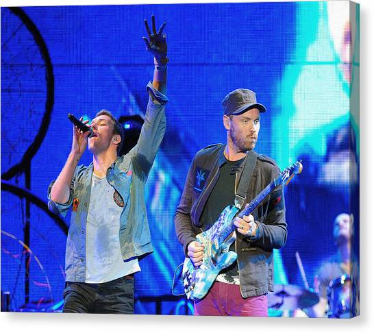 Coldplay Canvas Print - Coldplay6 by Rafa Rivas