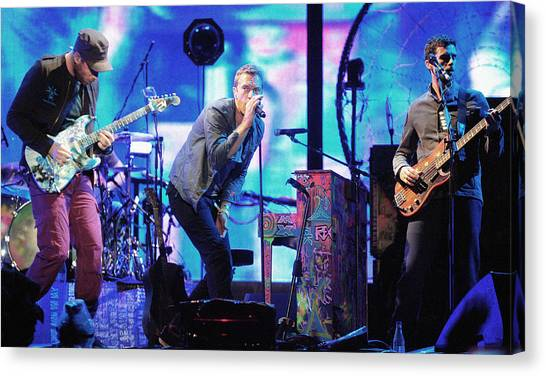 Coldplay Canvas Print - Coldplay7 by Rafa Rivas