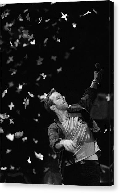 Coldplay Canvas Print - Coldplay9 by Rafa Rivas