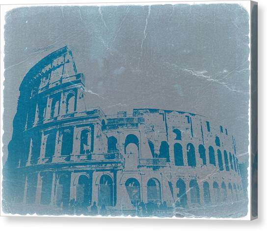 Cathedrals Canvas Print - Coliseum by Naxart Studio