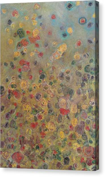 Collaboration Of Colors Canvas Print by Jacob Stempky