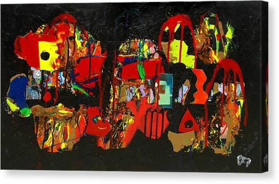 Collage 1 Canvas Print by Paul Freidin
