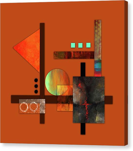 Collage Abstract 9 Canvas Print