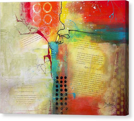 Collage Art 5 Canvas Print