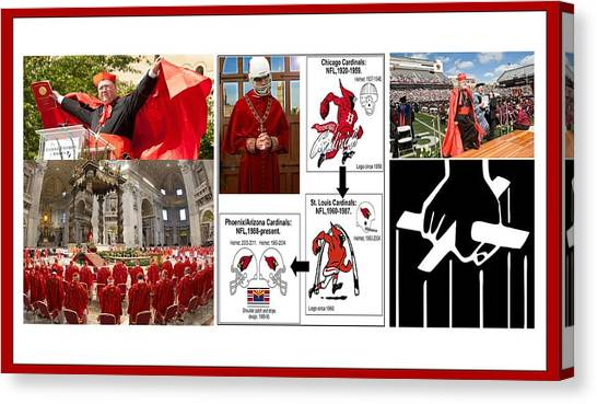 College Of Cardinals Canvas Print