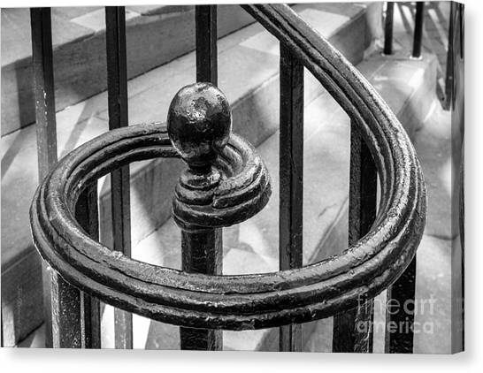 University Of South Carolina Canvas Print - College Of Charleston Stair Detail by University Icons