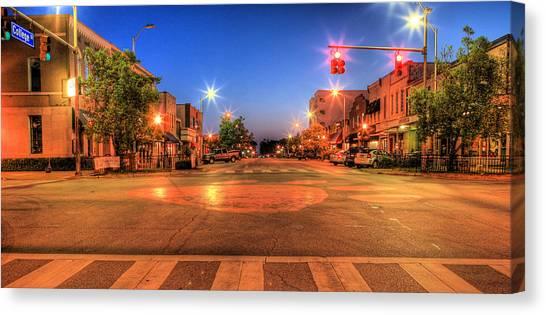 Auburn University Canvas Print - College Street by JC Findley