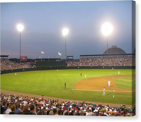 College World Series 2010 Canvas Print