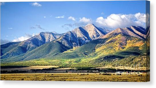 Collegiate Range Canvas Print