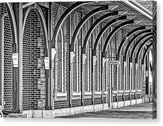 Collingwood Station Canvas Print