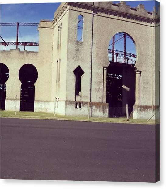 Portal Canvas Print - #colonia #uruguay by Fernando Portal