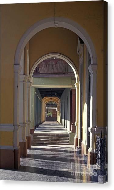 Colonial Arches Granada Nicaragua Canvas Print
